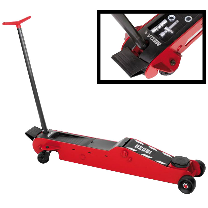 how to use hydraulic trolley jack