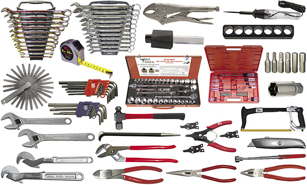 157-Pc  Agricultural Tool Kit (Tools Only)