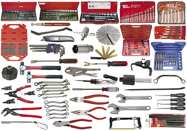 272-Pc  Mechanic's Pro Tool Kit (Tools Only)
