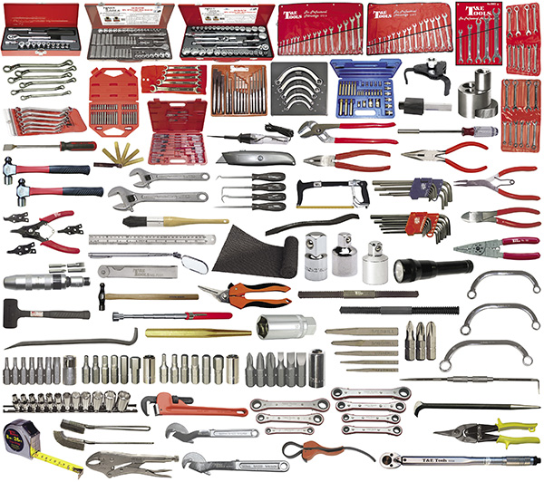 428-Pc  SAE/Metric Auto Plus Tool Kit (Tools Only)