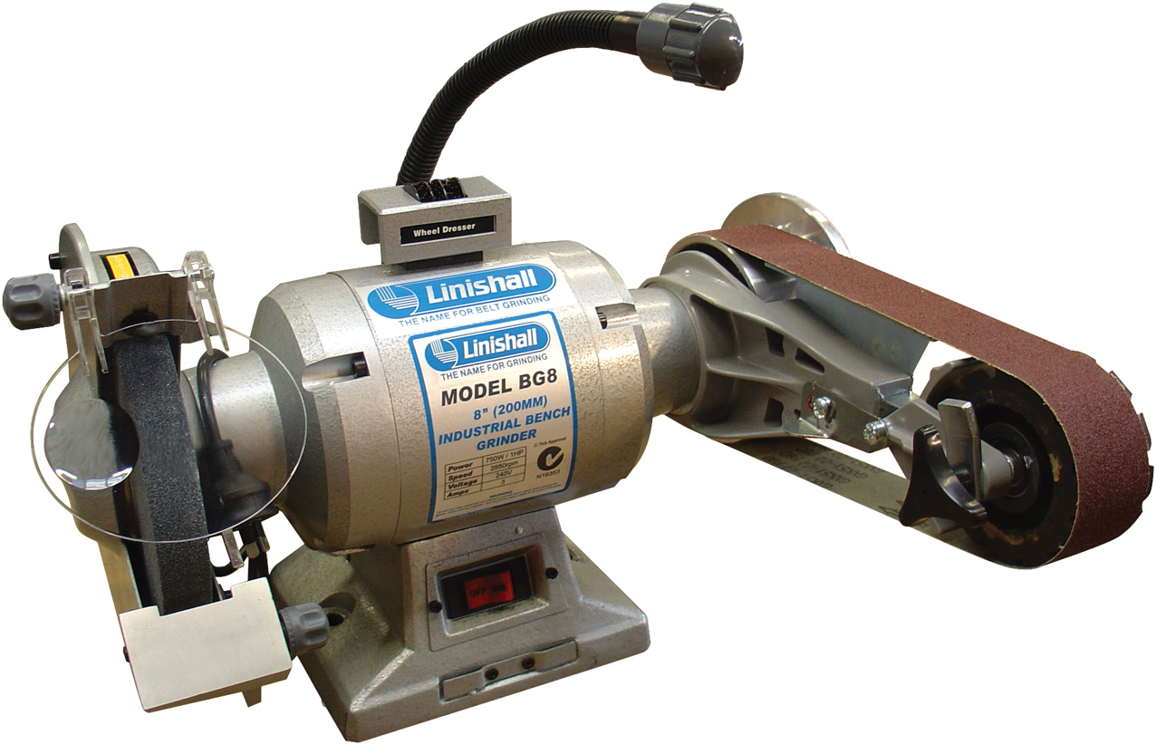 8 Quot Bench Grinder Linishing Attachment